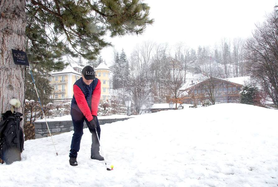 Concours d'approche - Snow Golf 2016 - 7